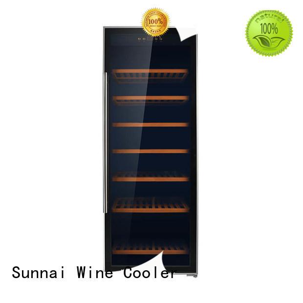 Sunnai black wine cellar fridge wholesale for home