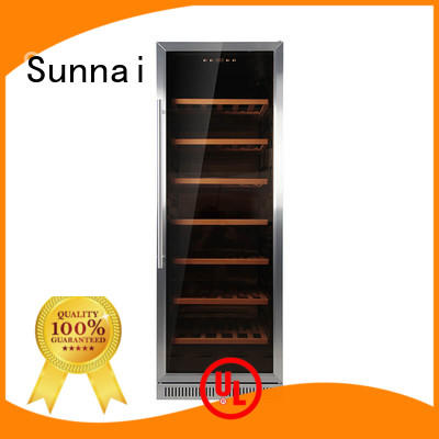 Sunnai high quality under counter wine cooler manufacturer for work station