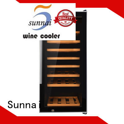 silver wine cellar cooler manufacturer for work station Sunnai