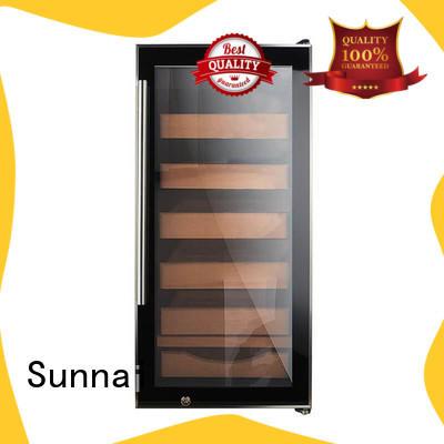 Sunnai wood cigar refrigerator manufacturer for indoor