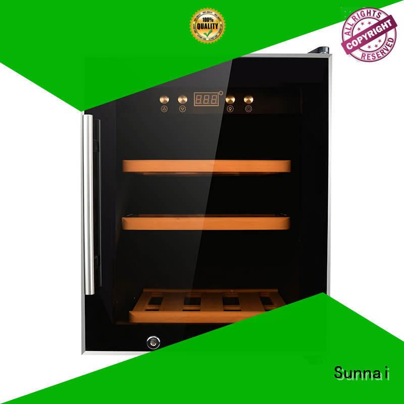 Sunnai wine dual zone wine refrigerator refrigerator for work station