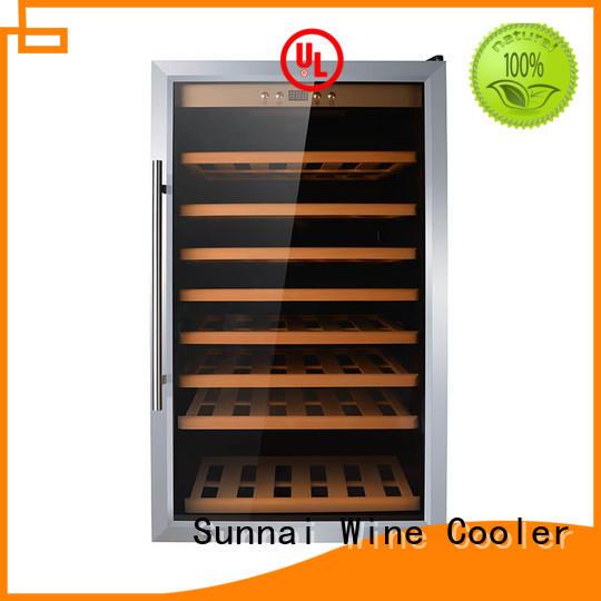 durable single zone wine cooler fridge refrigerator for indoor
