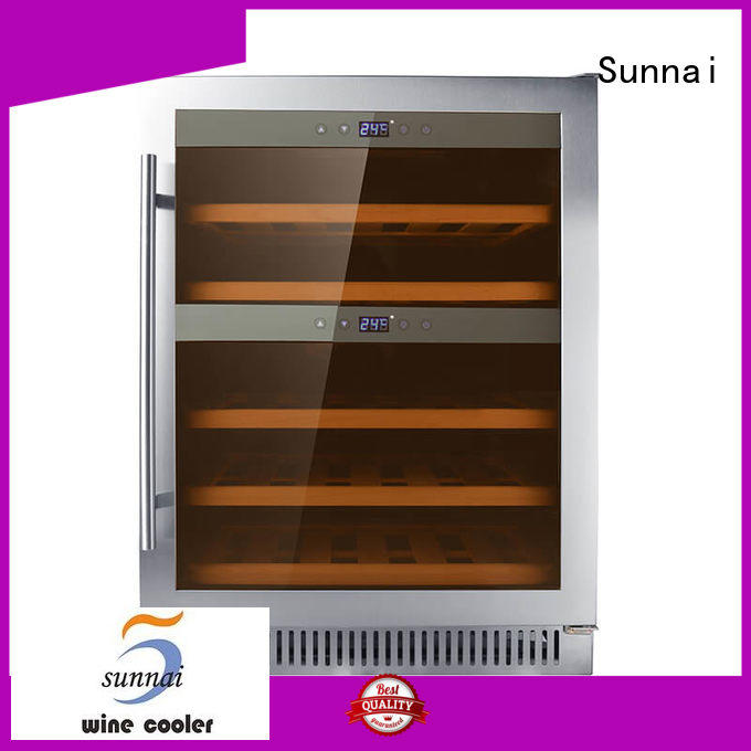 durable under counter wine fridge stainless supplier for home