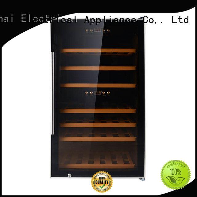 Sunnai black wine cooler refrigerator refrigerator for home