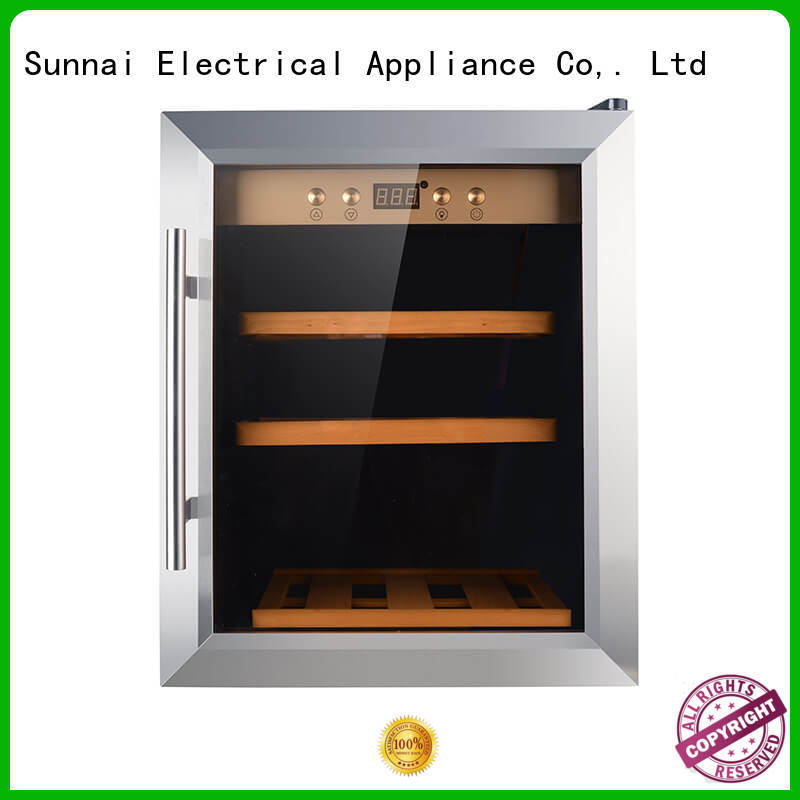 Sunnai durable freestanding wine cooler product for home