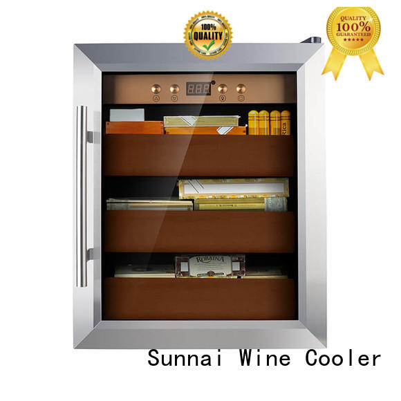 Sunnai quality cigar refrigerator supplier for indoor