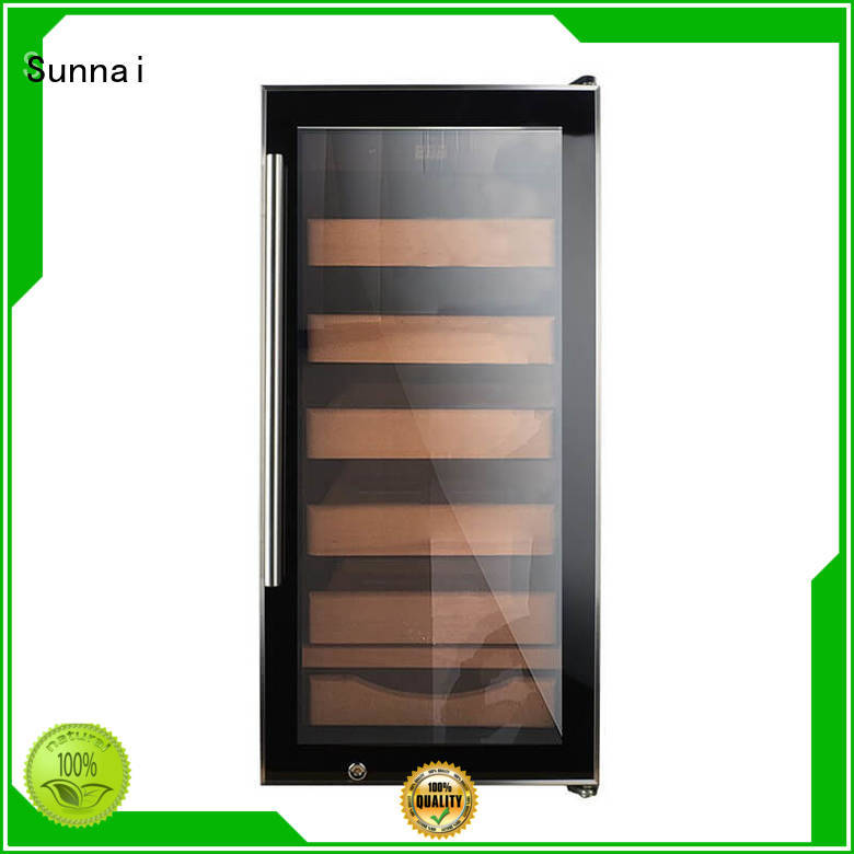 Sunnai cigar cigar fridge supplier for indoor