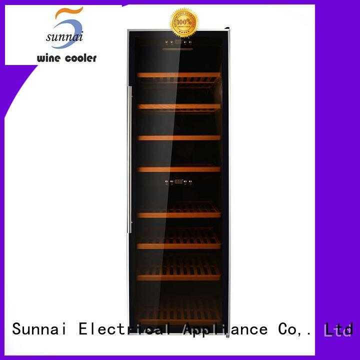 black wine storage refrigerator double manufacturer for work station
