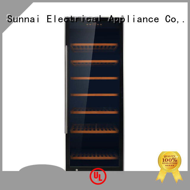 safety dual zone wine fridge stainless manufacturer for work station