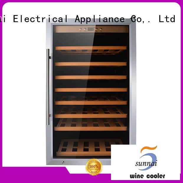 Sunnai silver wine storage fridge wholesale for home