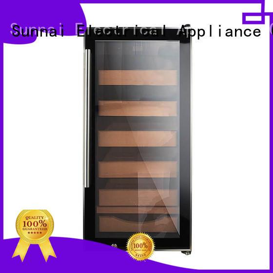 Sunnai online cigar refrigerator wholesale for work station