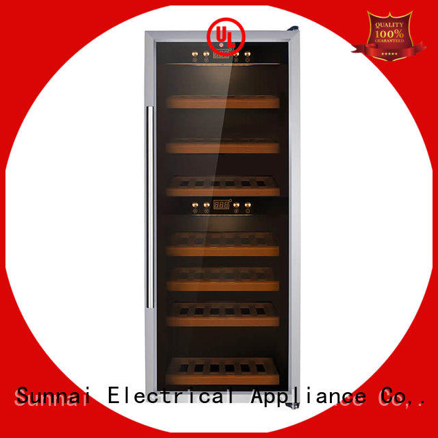 wine cooler refrigerator bottles shop Sunnai