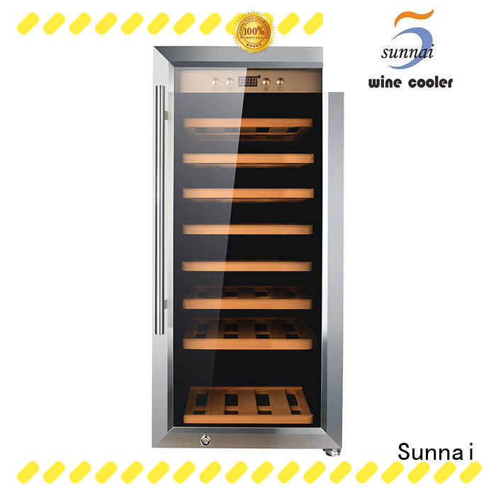 black free standing wine refrigerator wine product for home