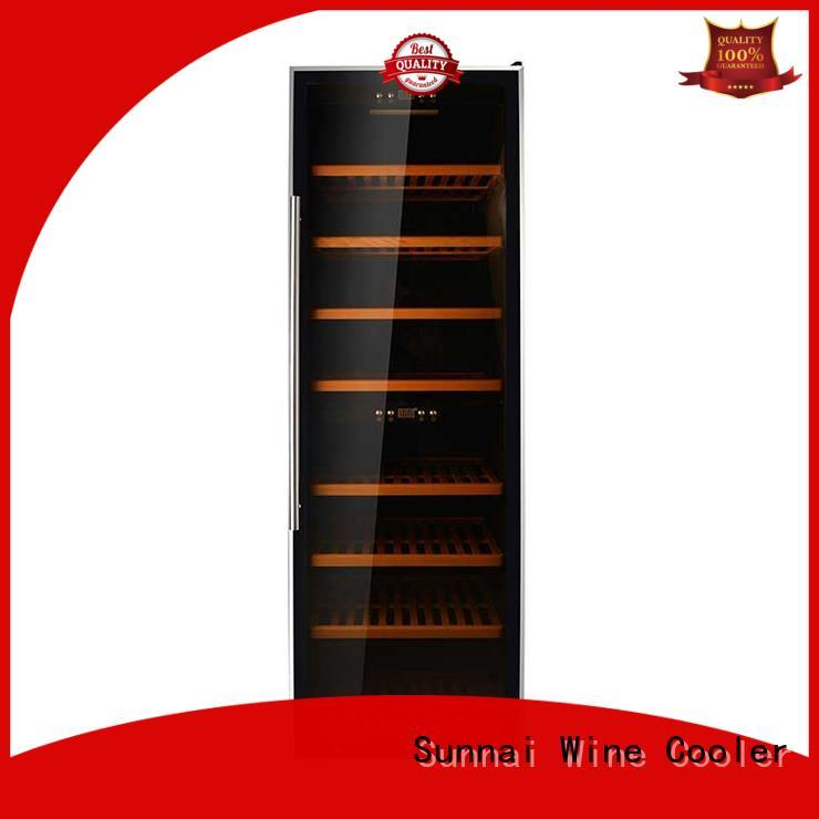 high quality stainless steel door wine cooler shelves supplier for work station