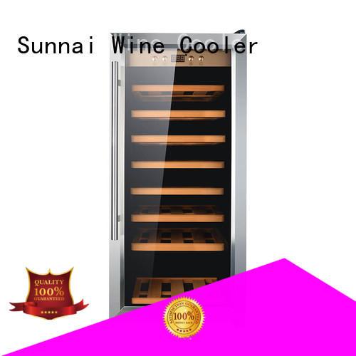 Sunnai dual wine storage refrigerator refrigerator for work station