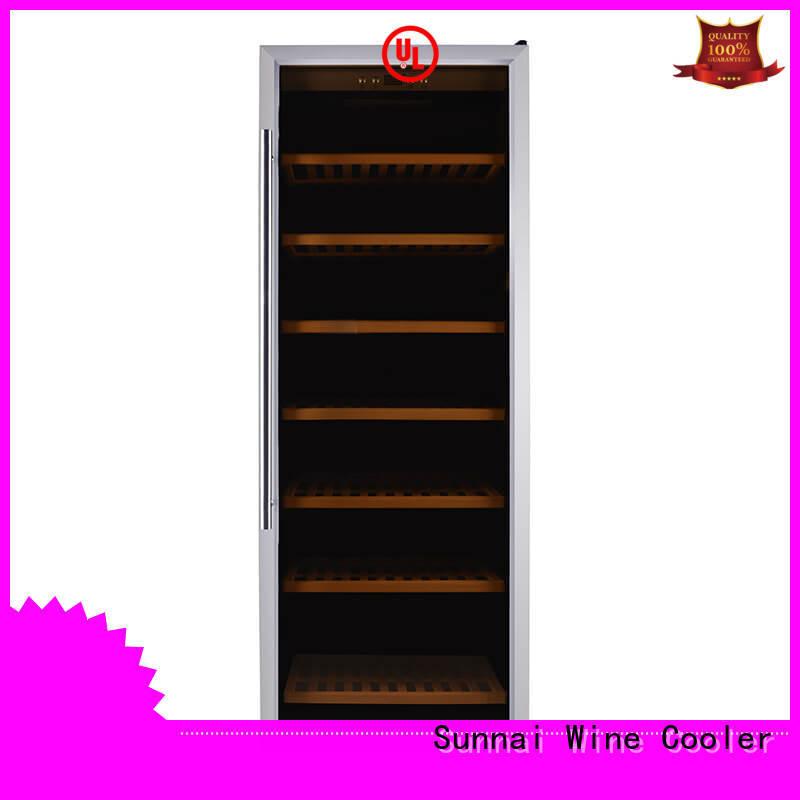 high quality compressor wine cooler dual zone dual refrigerator for work station
