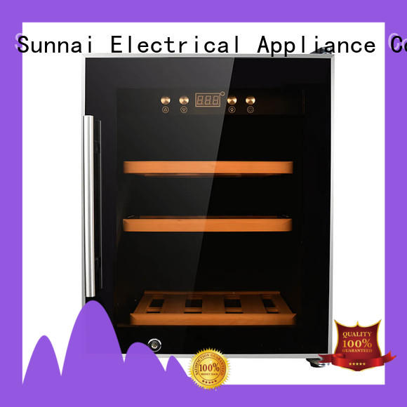 Sunnai panel wine cellar fridge supplier for home