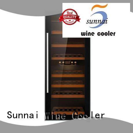 Sunnai professional best freestanding wine cooler fridge for indoor
