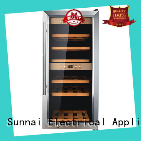 wine dual zone freestanding wine cooler panel manufacturer for work station