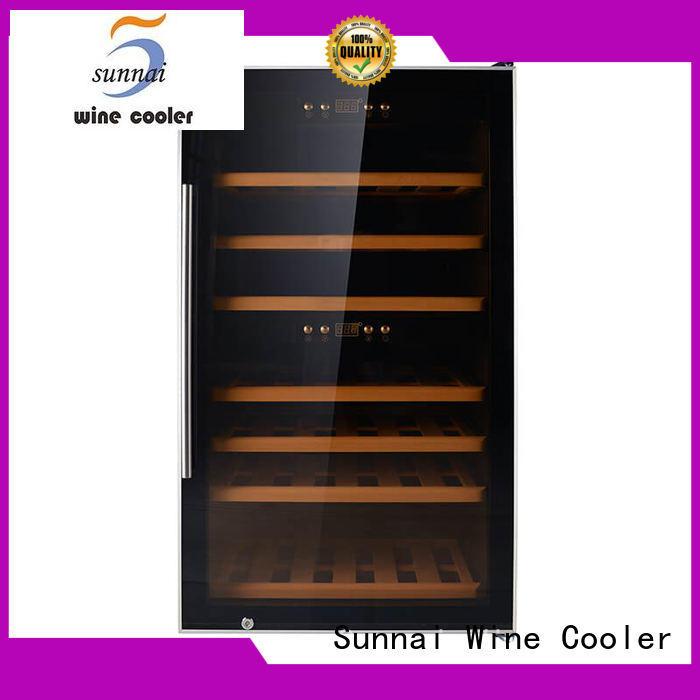 Sunnai professional single zone wine fridge wholesale for indoor