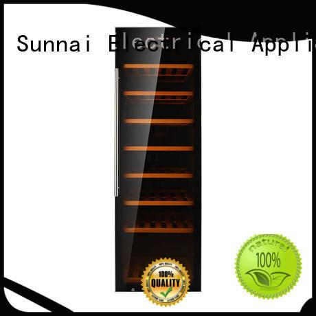Sunnai bottles wine storage refrigerator series for indoor