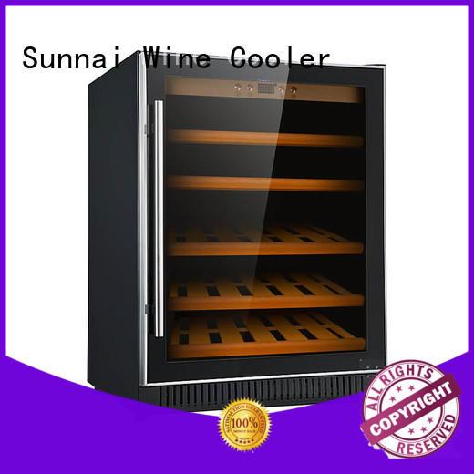 online single zone wine fridge silver cooler for home