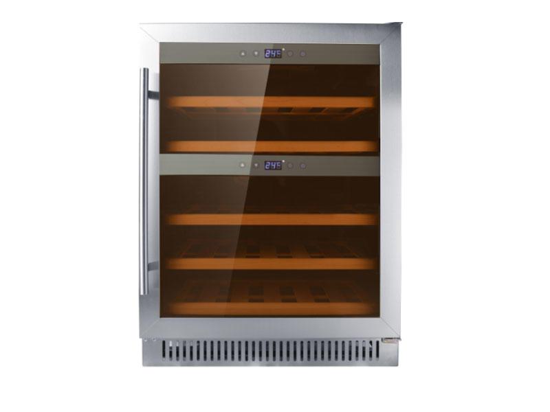 undercounter item 40 bottles compressor wine refrigerator +10000pcs+Swizerland customers and Canada customers